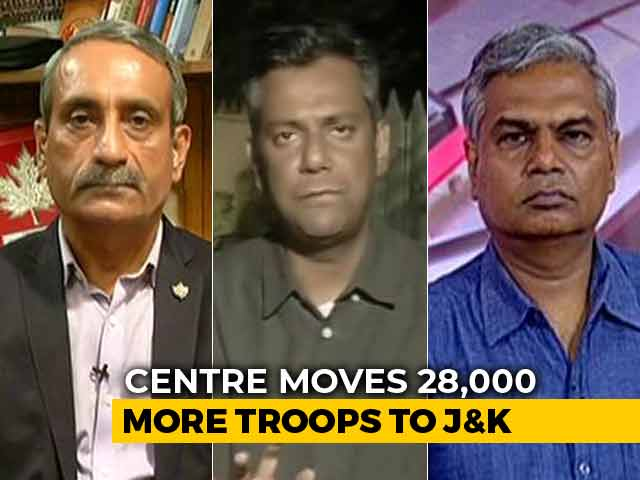 "Video : Political Heat Over ""Leave Kashmir"" Advisory"