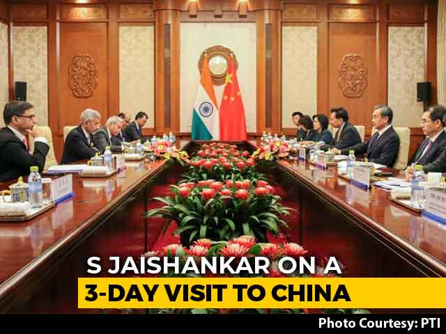 "Video : ""Differences Should Not Become Disputes"": India To China Amid J&K Move"