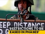 Video : Jammu And Kashmir Government's 4-Point Blueprint For Long-Term Calm