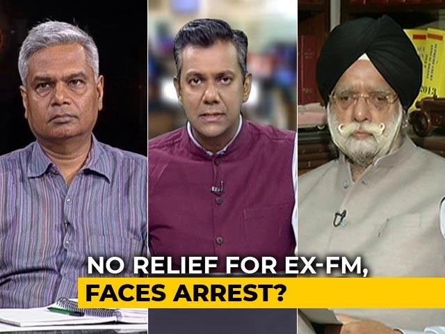 "Video : ""Can't Say P Chidambaram Is Fleeing"": Senior Lawyer KTS Tulsi"