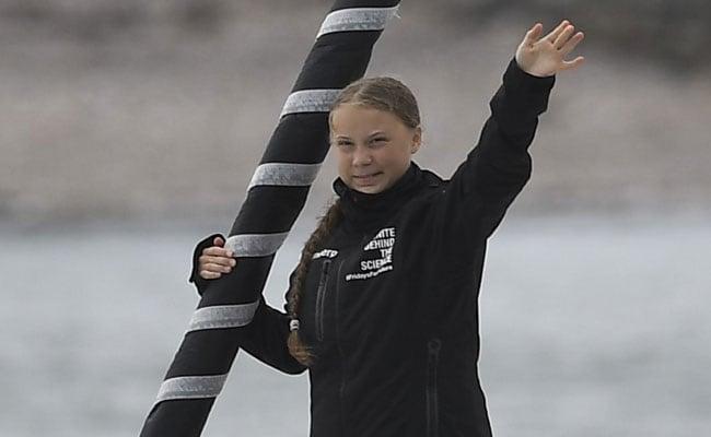 Carbon Footprint Row Over Greta Thunberg's Yacht Trip To New York