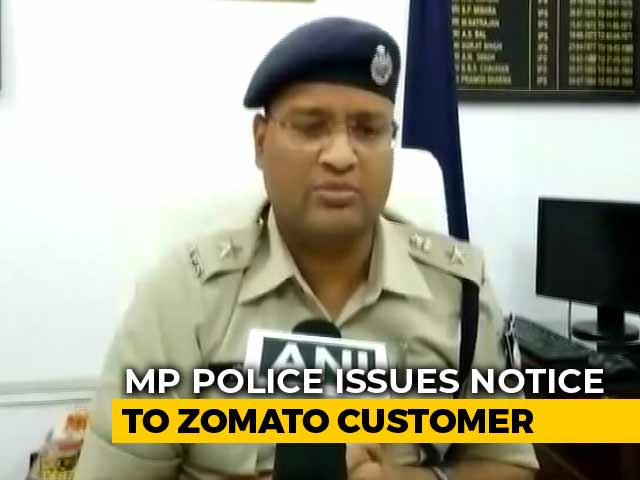 "Video : Police Warning To Zomato User Who Cancelled Order Over ""Non-Hindu Rider"""