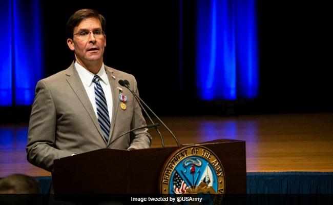 अमेरिकी रक्षा मंत्री ने राजनाथ सिंह से कहा- भारत का आंतरिक मामला है कश्मीर