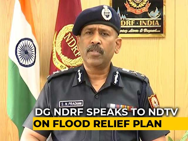 Video: Nearly A Dozen States Affected By Floods, Says NDRF Chief
