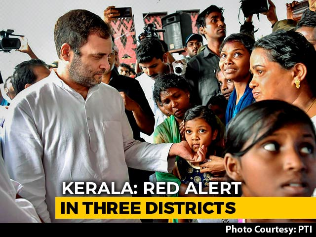 Video: 'Heartbreaking': Rahul Gandhi Visits Flood-Ravaged Wayanad
