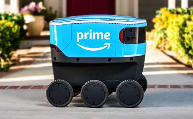 Amazon Now Delivering Packages In Southern California With Scout Robots - NDTV News thumbnail