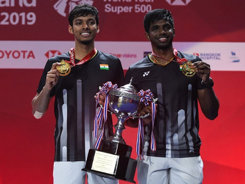 Satwiksairaj Rankireddy-Chirag Shetty Beat World Champions To Clinch Men's Doubles Thailand Open Title