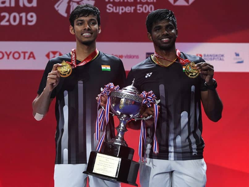 Satwiksairaj Rankireddy-Chirag Shetty Beat World Champions To Clinch Mens Doubles Thailand Open Title