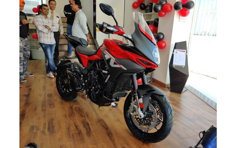 The MV Agusta Turismo Veloce goes up against the Triumph Tiger 800 and Ducati Multistrada 950