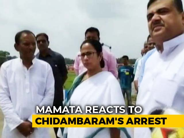 "Video : ""Process Incorrect"": Mamata Banerjee ""Saddened"" By P Chidambaram Arrest"