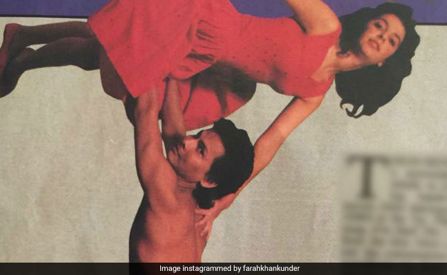 Farah Khan Could Do The Dirty Dancing Lift Many Years Ago. Anyone Care To Try Now?