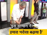 Video : प्राइम टाइम : ...सहयोगियों ने कुछ यूं सेलिब्रेट की रवीश कुमार की कामयाबी