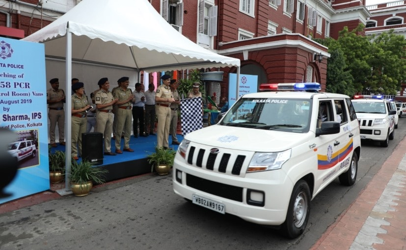 Out of these 92 Mahindra TUV300s, 58 vehicles were flagged-off by the Kolkata police on August 29