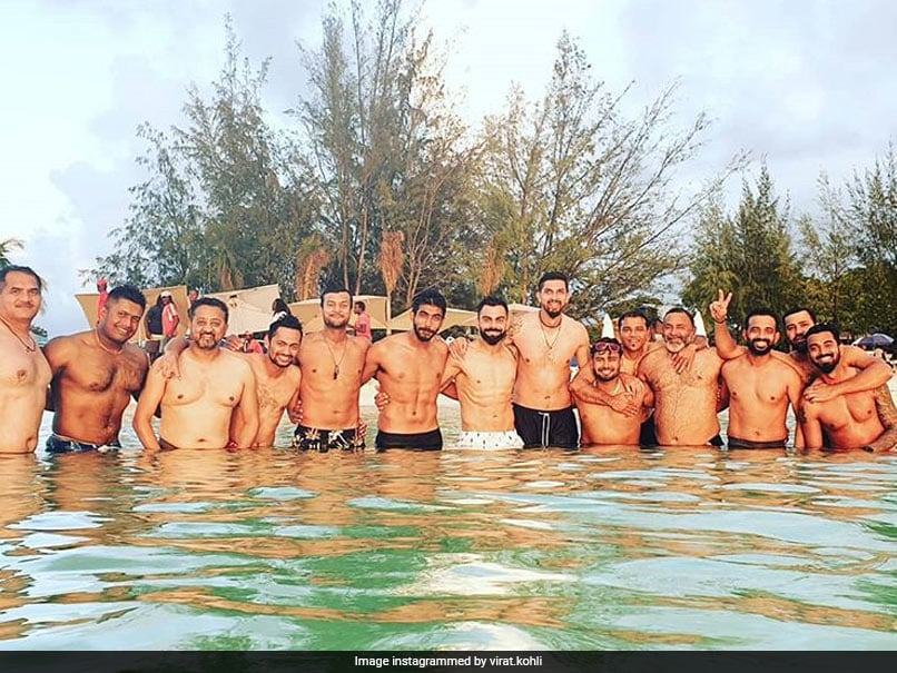 "Virat Kohli Enjoys ""Stunning Day At Beach With Boys"" Ahead Of West Indies Tests"