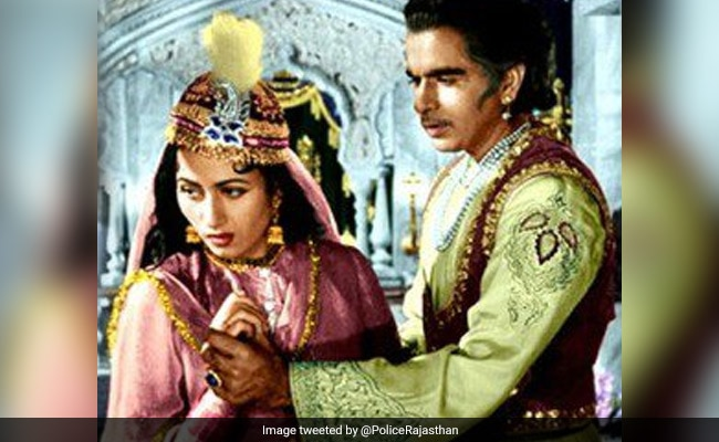 Why Rajasthan Police's Mughal-E-Azam Post Is Making Waves On The Internet