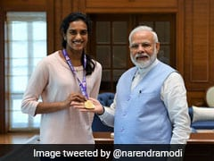 "PM Narendra Modi Meets World Champion PV Sindhu, Calls Her ""India's Pride"""