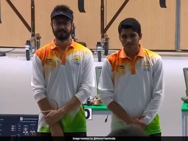 ISSF World Cup: Abhishek Verma wins gold in mens 10m air pistol event