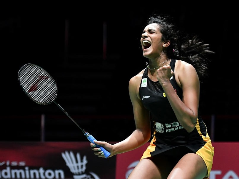 Image result for PV Sindhu enters finals hindi