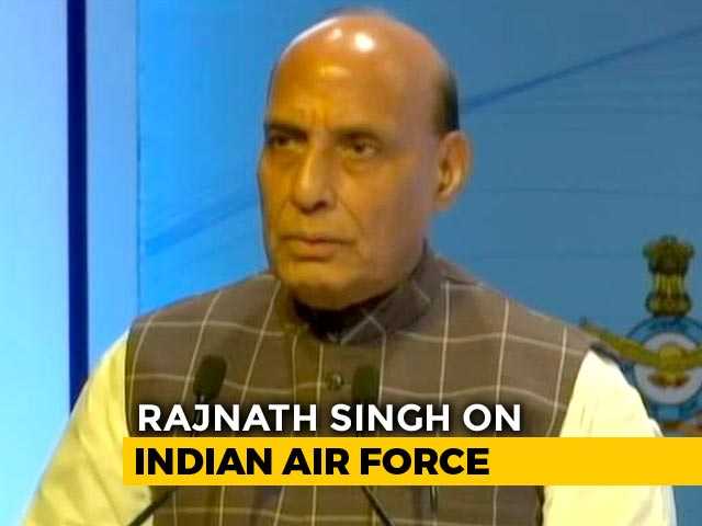 Video : Strike In Neighbourhood Showed Lethality Of Armed Forces: Rajnath Singh