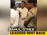 Video : Video Shows Rahul Gandhi & Co Negotiating With Srinagar Airport Officials