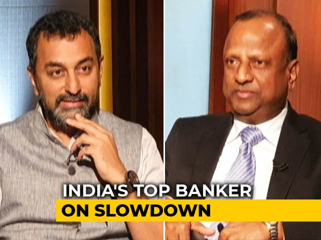 "Video : ""Can Fund More Than 1 Lakh Crore In 1 Month"": SBI Chairman Rajnish Kumar"
