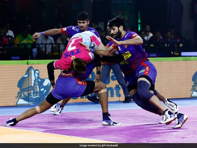 PKL 7: Dabang Delhi Defeat Jaipur Pink Panthers, Puneri Paltan Beat Gujarat Fortunegiants