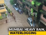 Video : High Tide, Heavy Rain In Mumbai; Don't Go Near Beach, Says Civic Body