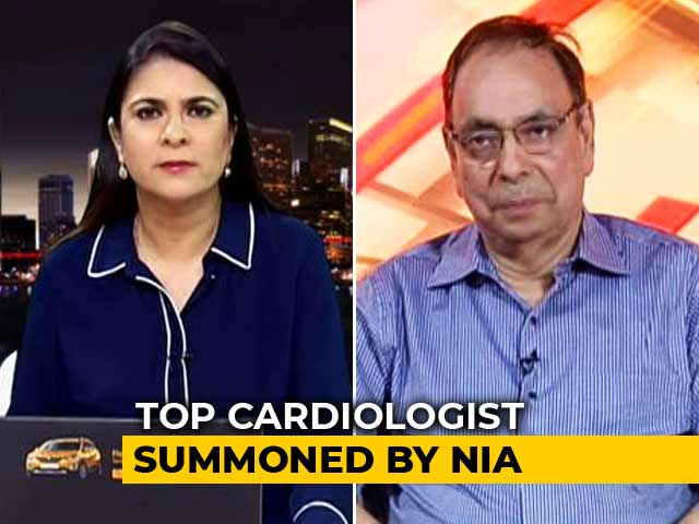 Video : Asked If Medical Report Linked To Hawala: Doctor On Anti-Terror Agency Summon