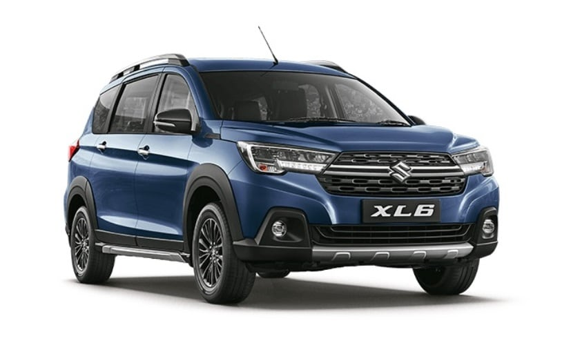 The Maruti Suzuki XL6 two variants Zeta and Alpha, each offered in both manual and automatic options