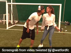 "Watch: Argentine Footballer Dances To ""Shah Rukh Khan's Smash Hit Baazigar O Baazigar"""