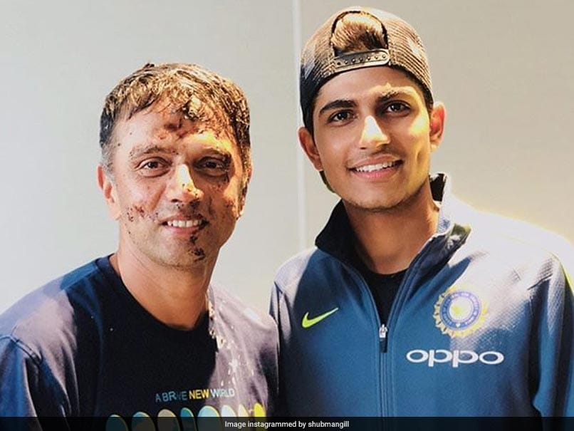 Shubman Gill Reveals The Basic Mantra Given By Rahul Dravid