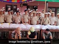 Banned Party Drugs Worth Rs 400 Crore Seized In Manipur