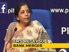 Video: 4 Mega State-Run Bank Mergers Announced by Nirmala Sitharaman