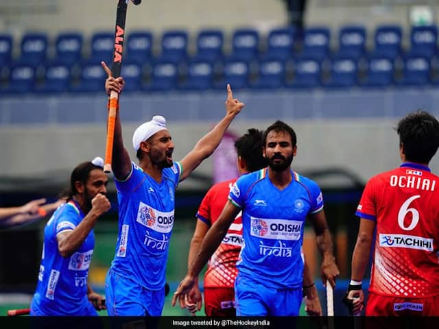 Indian men's hockey team beats Japan 6-3 at Olympic Test Event in Tokyo