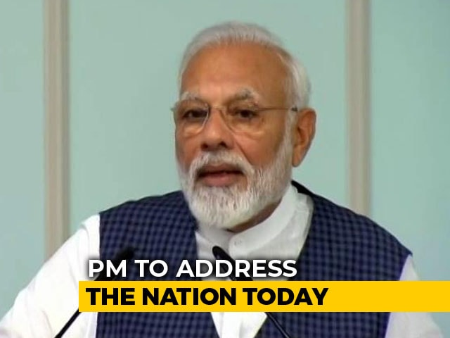 Video : PM Modi To Address Nation Today In Special All India Radio Broadcast