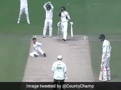 Watch: Bowler Falls While Appealing, Leaving Fielders In Splits