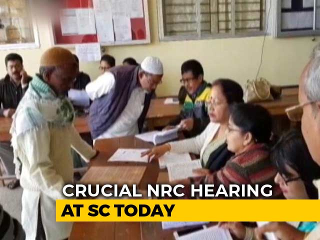Video : Crucial Hearing On Assam Citizens' List In Supreme Court Today