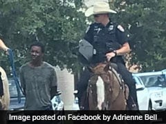 Cops On Horseback Led Black Suspect By Rope Through Texas Streets