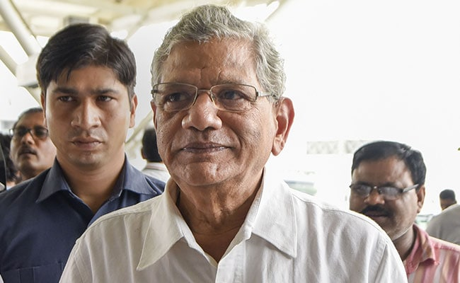 Sitaram Yechury Submits Details Of Kashmir Visit In Supreme Court: Report