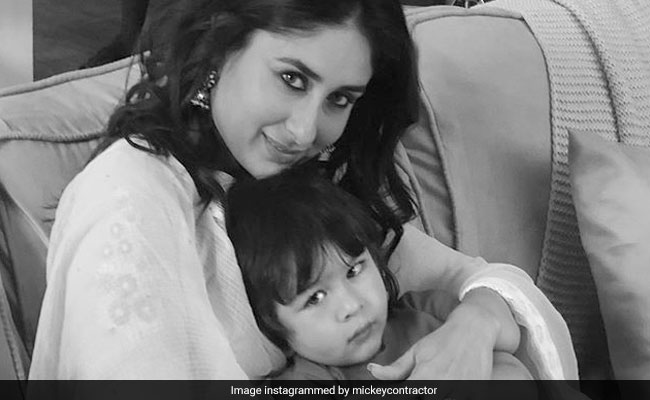 Kareena Kapoor Went To Work, Taimur Followed. Result - This Cute Pic