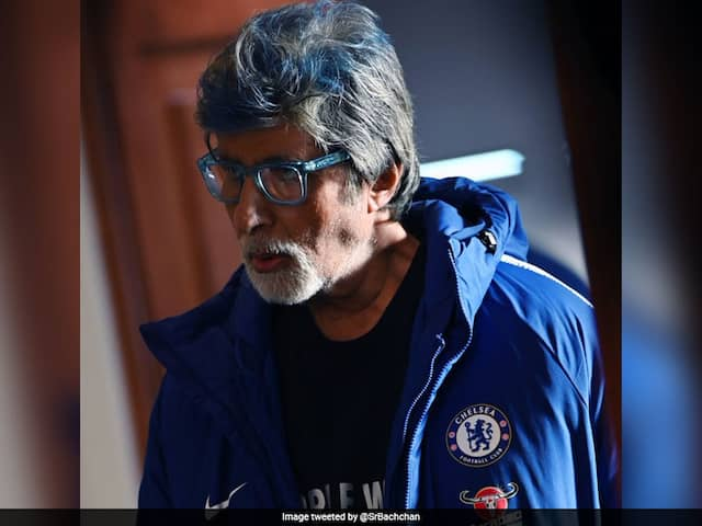 "Chelsea Fans Go Bonkers After Amitabh Bachchans ""Blue"" Tweet"