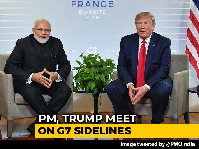 "Video : ""India-Pak Issues Bilateral"": PM Modi At Meeting With Donald Trump"