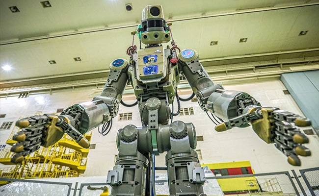 Russia's First Humanoid Robot 'Fedor' Leaves International Space Station