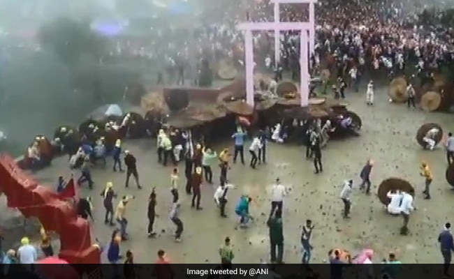 100 Injured In 10 Minutes During Uttarakhand Stone-Throwing Festival