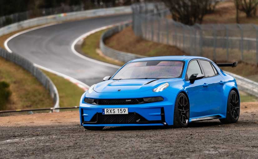 The 528hp churning Lynk & Co 03 Cyan Concept lapped the Nurburgring Nordschleife in 7:20 minutes.