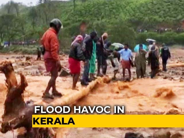 Video: Kerala Floods: 35 Dead, Heavy Rain Predicted For Next 24 Hours