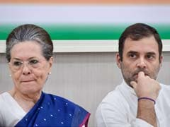 Sonia Gandhi Back As Congress Chief For Now After 12-Hour Meet: 10 Points