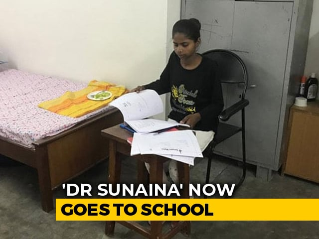 "Video : ""Doctor Sunaina"" Now Goes To School. Thank You For Your Help"