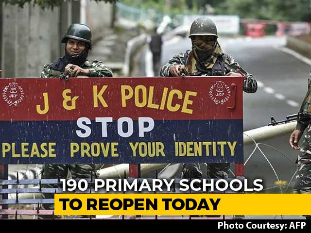 Video : Over 190 Primary Schools In Srinagar To Re-Open Today: Official