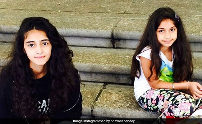 This Throwback Picture Of Ananya Panday And Sister Rysa Is Just Too Cute